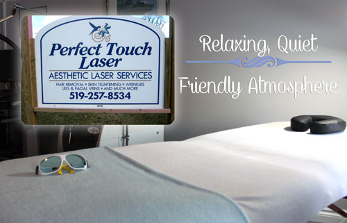 Perfect Touch Laser: Relaxing, quiet and friendly atmosphere.